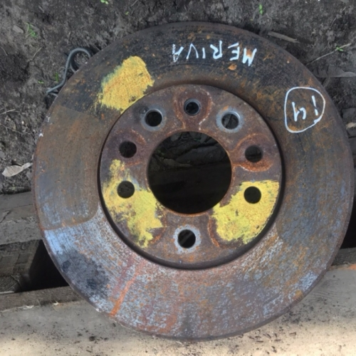 Тормозной диск OPEL MERIVA