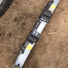 Усилитель переднего бампера OPEL ASTRA H